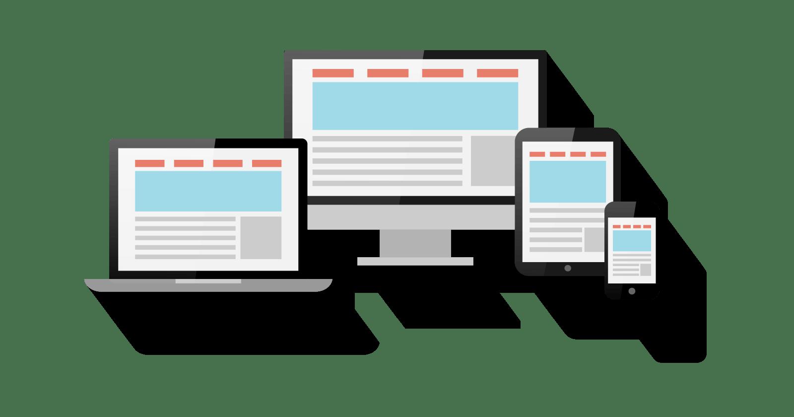 マルチデバイスに対応したウェブサイトの制作